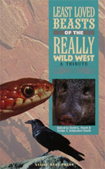 Least Loved Beasts of the Really Wild West Front Cover