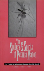 The Spiders & Spirits of Petunia Manor - Front Cover